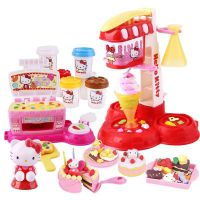 hellokitty凯蒂猫彩泥套装迪士系列小麦泥儿童手工制作益智玩具