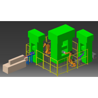 重庆压力机二次元机械手供应厂家,成都4轴搬运机器人价格