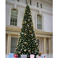户外大型圣诞树仿真圣诞树订做厂家 假圣诞树 人造塔形美景圣诞树