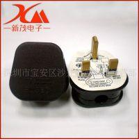 批发 BS三插插头 英式组装电源线插头 BS装配插头电源线