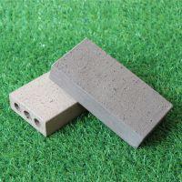 厂家直销 宜兴陶土砖 真空砖 景观广场砖 人行道砖