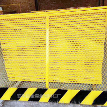 基坑护栏有什么好处厂家安全质量保障亚荣星基坑护栏隔离网