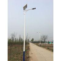 胶体免维护蓄电池6米太阳能led路灯配置参数