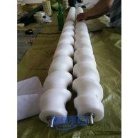尼龙螺旋进瓶器 来图定制 尼龙进瓶螺旋 河北福瑞尔