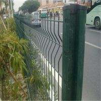 三角折弯护栏网价格 住宅小区防护网厂家 外部围界网