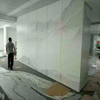 铝单板厂家供应幕墙艺术冲孔铝单板 图案冲孔铝单板