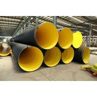 HDPE双壁波纹管排水管圣大管业厂家供应淮南大通区