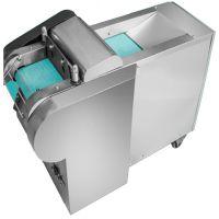 学校食堂用半自动切菜机 多功能双头切菜机