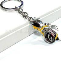 个性车用创意钥匙扣 大黄蜂金属双面钥匙圈环挂件