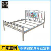 不锈钢3d贴画床公寓出租房专用