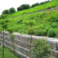环标 边坡植生格宾石笼网 绿化格宾石笼网 铁路高速公路隔离护拦网