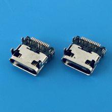 USB TYPE C 3.1正反插板上型单壳母座DIP+SMT/24P H=3.28 CL=1.57
