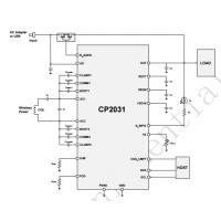CP2031,高集成高效率低功耗的苹果蓝牙充电盒5W无线充接收方案