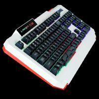USB发光游戏键盘 机械手感LOL CF背光有线台式电脑网吧笔记本键盘