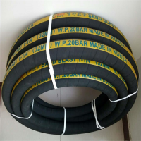 黑色夹布橡胶管 天然气液化气专用软管 耐油输送胶管