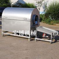 不锈钢炒货机 干货坚果翻炒机 加厚滚筒电动炒货机