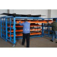 浙江货架厂金属板材存放解决方案——抽屉式板材架