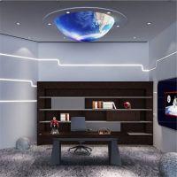 现代简约星球 星球吊灯餐厅酒吧吊灯定制 亚克力星球九大行星模型