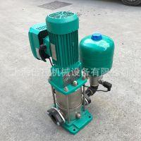 德国威乐立式不锈钢离心泵MVI203 无负压加压供水设备 船用泵