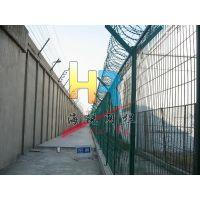 海锐监狱钢网墙设计安装,监狱护栏网品牌