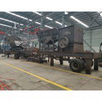 吕梁流动式打石子机多少钱 移动式碎石机 流动夹石机厂家及价格