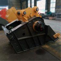 山东挖掘机移动破碎斗 尺寸型号可定制 厂家直销