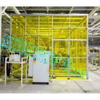 【苏州供应铝型材安全围栏、机器人弧焊房、除尘房、】