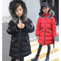 童装棉服韩版时尚棉衣儿童中长款棉袄外套清货便宜库存服装地摊货批发