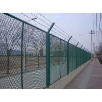 普通护栏网菱形护栏网 铁路安全防护网公路菱形护栏网防眩网
