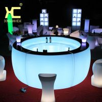 led发光弧形吧台酒吧组合家具创意户外活动可移动清吧调酒吧台