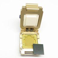 定制BGA256合金翻盖探针测试座BGA测试治具1.0间距17*17mm