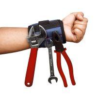 5格磁力手套磁性磁铁护腕强磁收纳工具保障多功能便携吸附螺丝钉