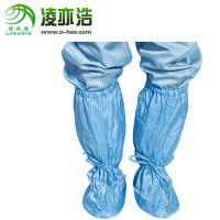 深圳凌亦浩防静电鞋厂家供应车间防静电高帮软底套筒鞋