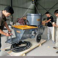 螺杆式腻子喷涂机主要技术特征