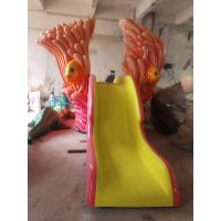 广东清远厂家热销水上游乐游乐设备游淏新款儿童攀爬穿越喷水小滑梯