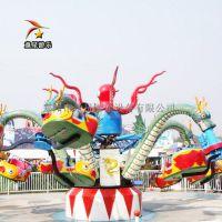 户外儿童游乐设备童星大章鱼外观美观逼真