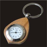 木质包边精美钥匙扣 高端钟表钥匙扣 商务创意小礼品