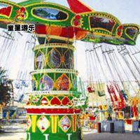 豪华飞椅经典广场游乐设备童星游乐设备厂家火热订购