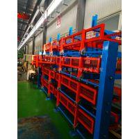 江苏双悬臂货架价格 伸缩式管材货架能存放什么 钢材 管材 型材存储新方法