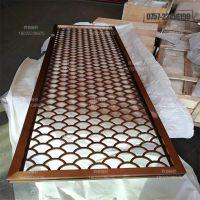 丽江铝合金窗花定制 木纹复古落地铝花格--厂家直供