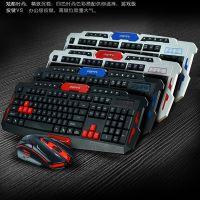 跨境专供都市方圆HK8100无线鼠标键盘套装EBAY速卖通wish亚马逊