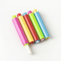 【双弹簧升级版】环保自动粉笔套夹子新料儿童教师专用厂家直销