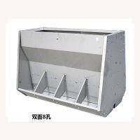 干湿不锈钢料槽,不锈钢大猪槽生产食槽厂家