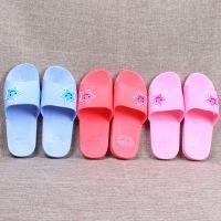 2017夏季基本款女士家居凉拖浴室拖鞋糖果色塑料拖鞋厂家批发