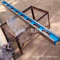 厂家直销 铸铁检验平尺 机械划线用工字平尺 加工定做重型平尺