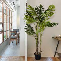北欧大型仿真植物盆栽热带假绿植客厅落地盆景室内摆件装饰家居品