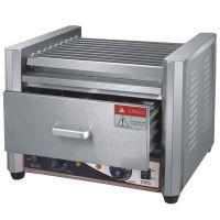 热狗机连保温柜 9管热狗机器电热烤肠机
