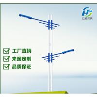 扬州路灯厂家直销 40Wled 6米户外大功率LED 双臂市电