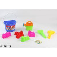 8pcs沙滩桶套装 广告促销赠品 礼品 儿童玩具 儿童玩沙工具