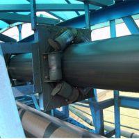 管式带状输送机更大的倾斜输送能力 品质好